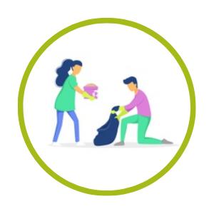 Image for Ramassage de déchets sur le marché