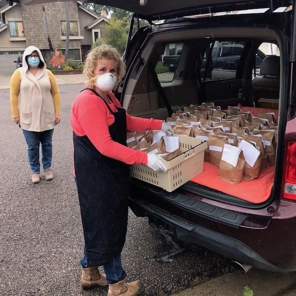 Image for FOOD: Assemble & Deliver Food Bags for Safe Parking Program