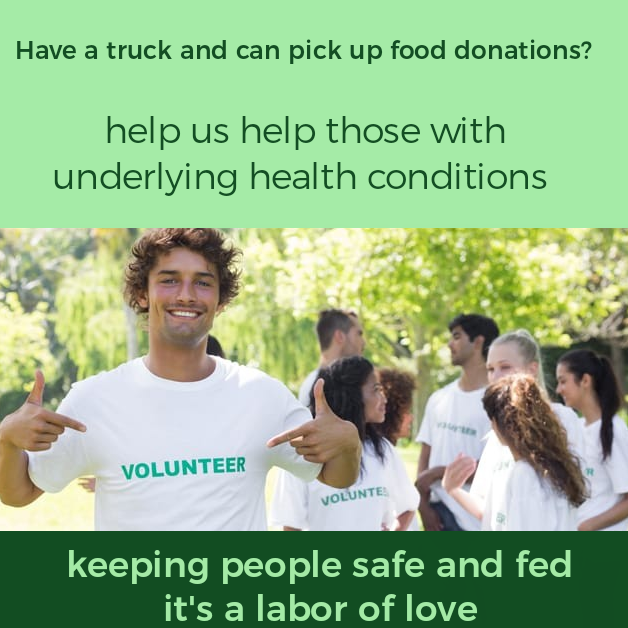 Image for FOOD: Food Donation Pick Up & Drop Off