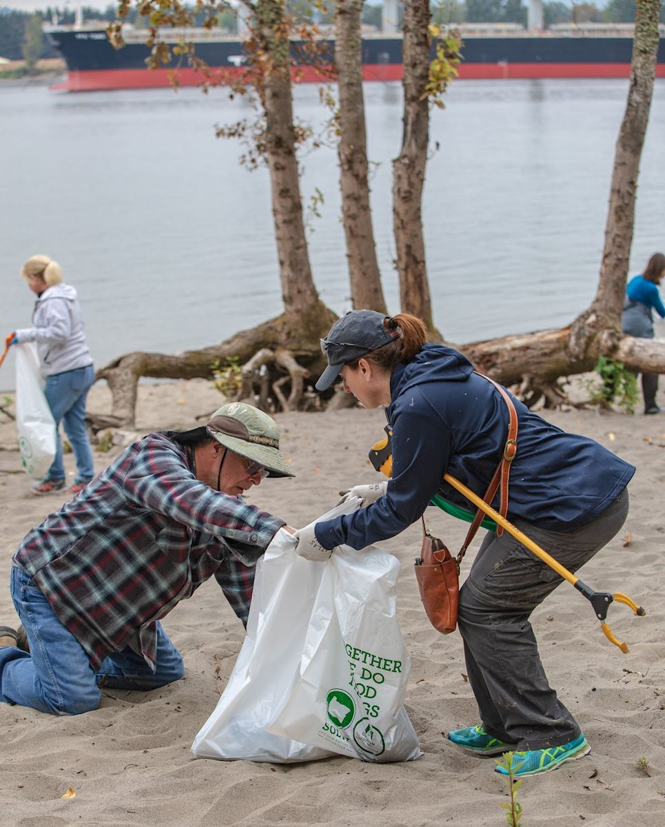 SOLVE   2019 Earth Day Riverside Cleanup at Frenchman's Bar Park
