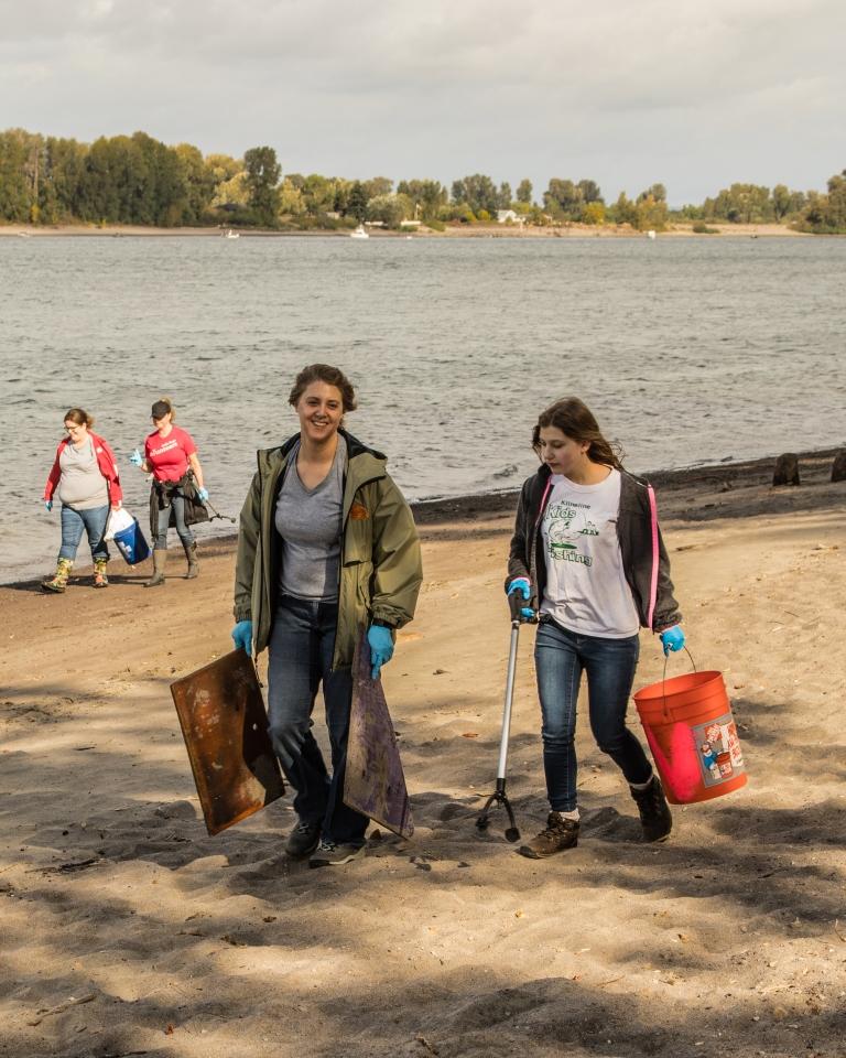 SOLVE | 2019 Frenchman's Bar Summer Beach Cleanup 5 25