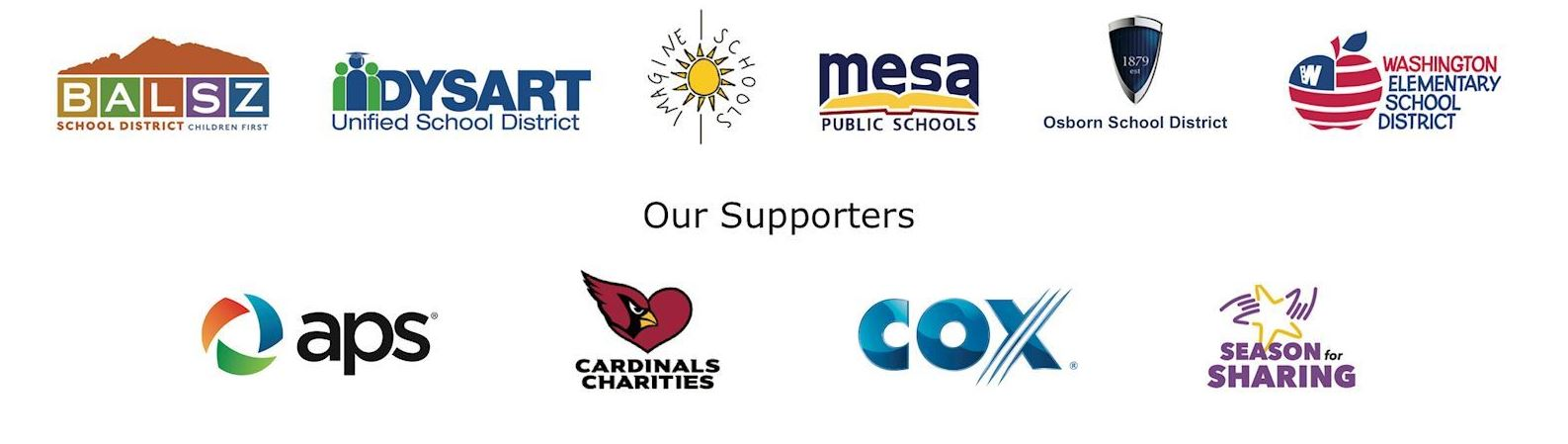 YEC Schools and Supporters
