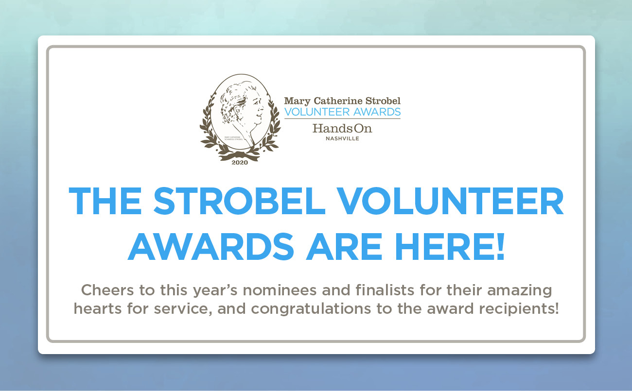 The 2020 Strobel Awards are going virtual! Join us Sept. 14, 15, and 16 to celebrate the nominees, finalists, and recipients.