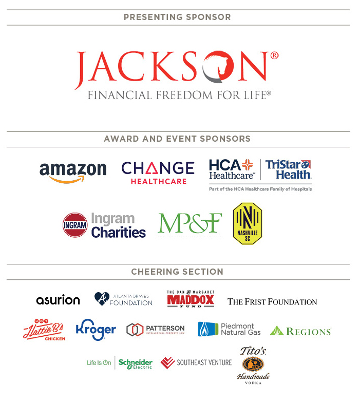 Thank you to our great sponsors!
