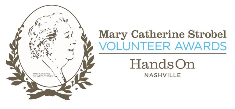 Mary Catherine Strobel Volunteer Awards logo