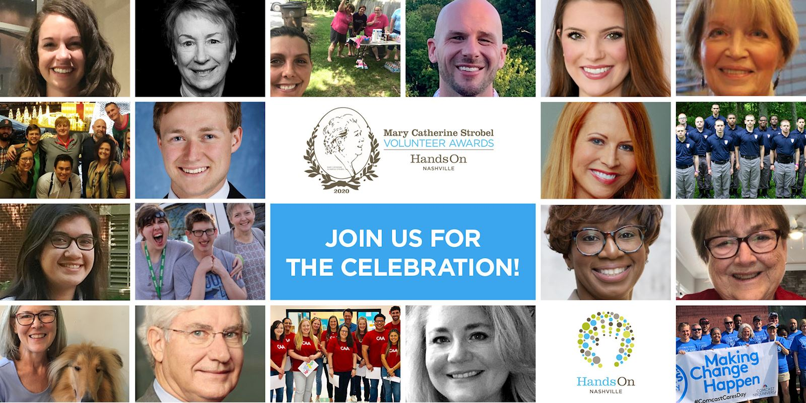The 2020 Strobel Volunteer Awards finalists
