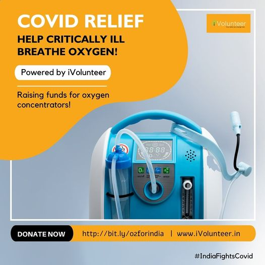 Mission Oxygen - Covid Relief for India