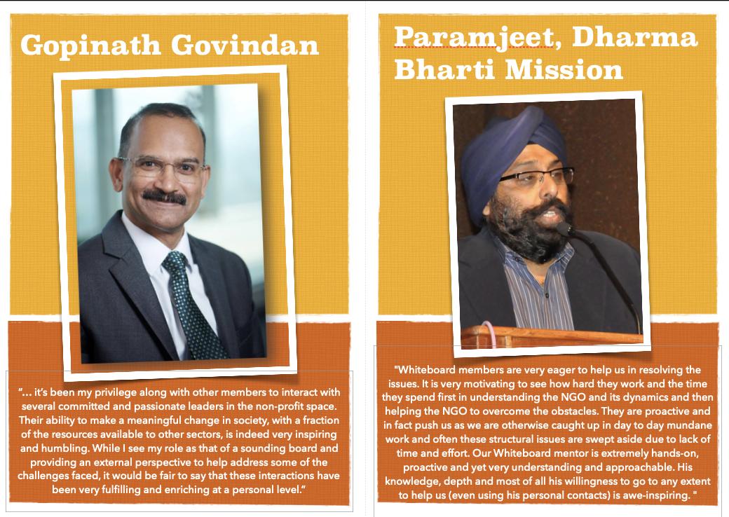 Volunteer testimonial - Gopinath & Paramjeet, Dharma Bharti Mission