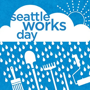 A promo image for Seattle Works Day