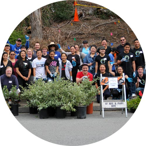 handson bay area volunteers