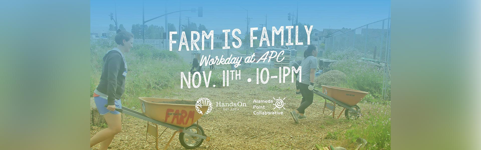farm is family workday at apc