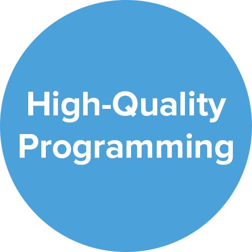 high quality programming