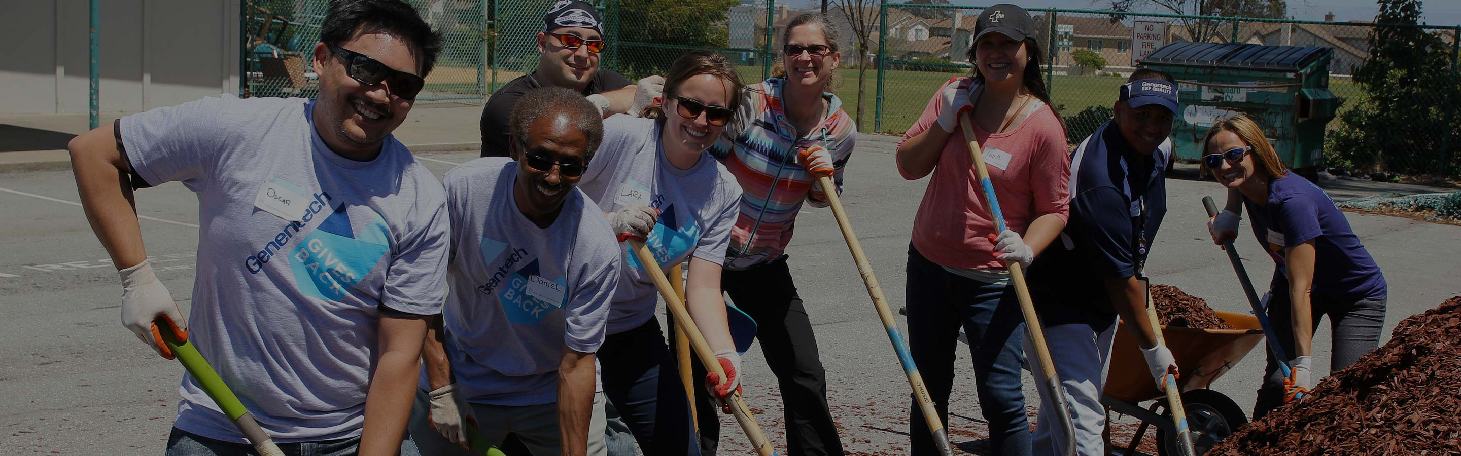 volunteer with your company handson bay area