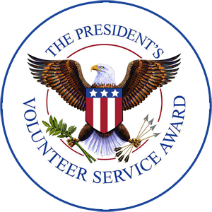 presidents volunteer service award