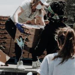Image for 2020 Bronx Hub Center Food Pantry Volunteers