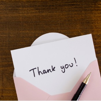 Image for Virtual Opportunity - Write Thank You Notes to Essential Staff