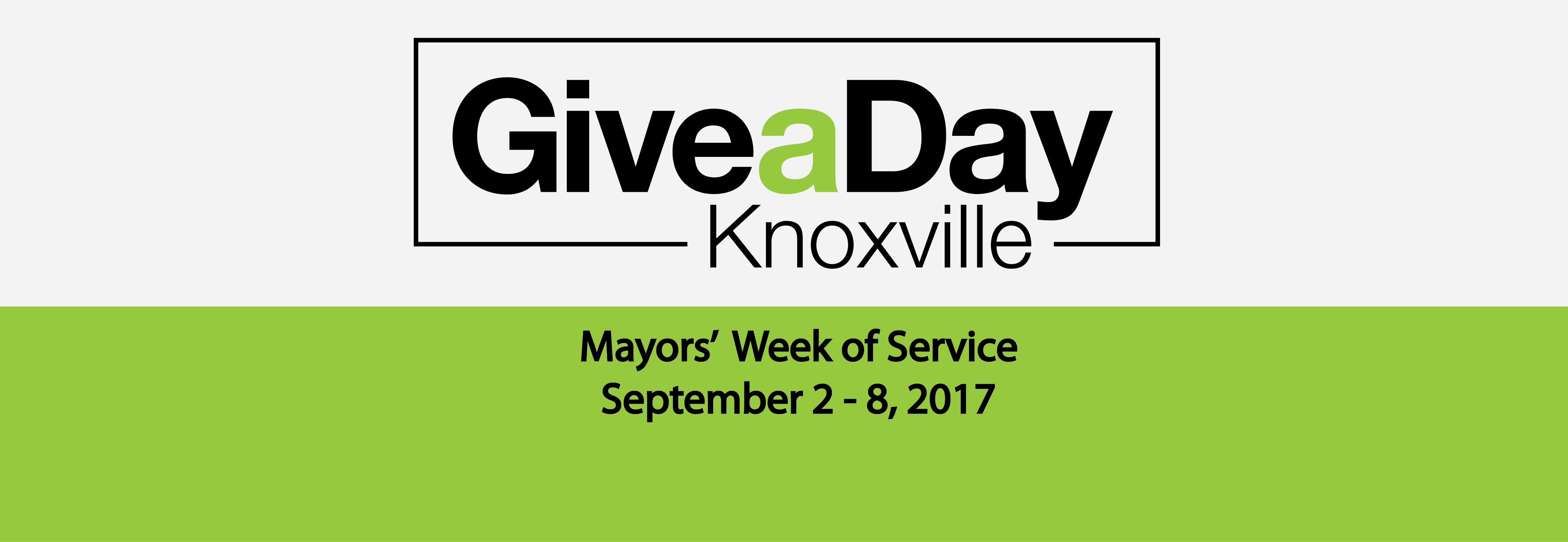 Give A Day Knoxville