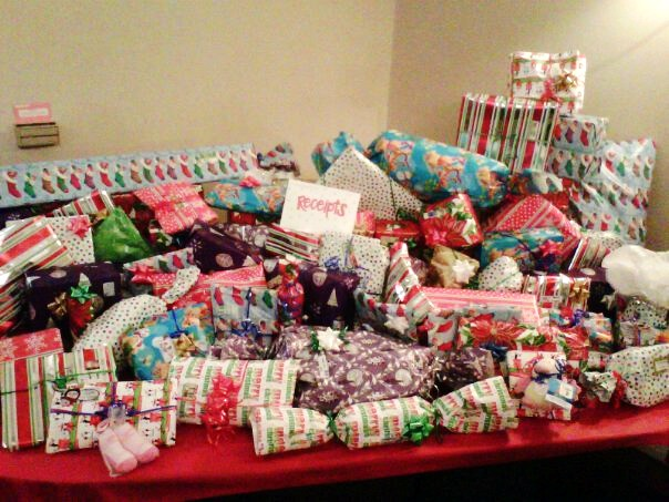 Adopt A Family Presents From VCYC