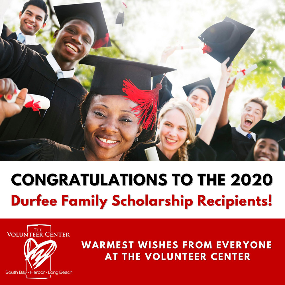 Congrats 2020 Durfee Family Scholarship Recipients!