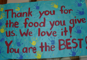 Food For Kids Thank You