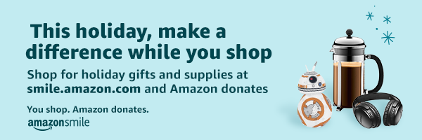 You shop. Amazon donates.
