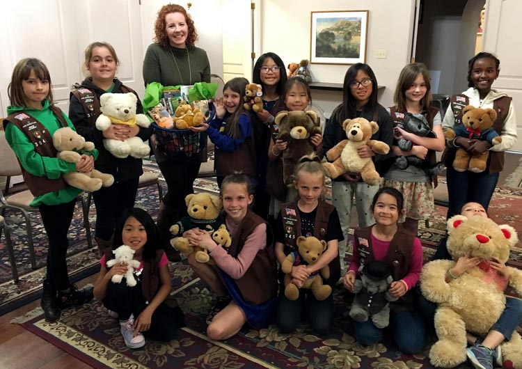 Torrance's Girl Scout Troop 3845