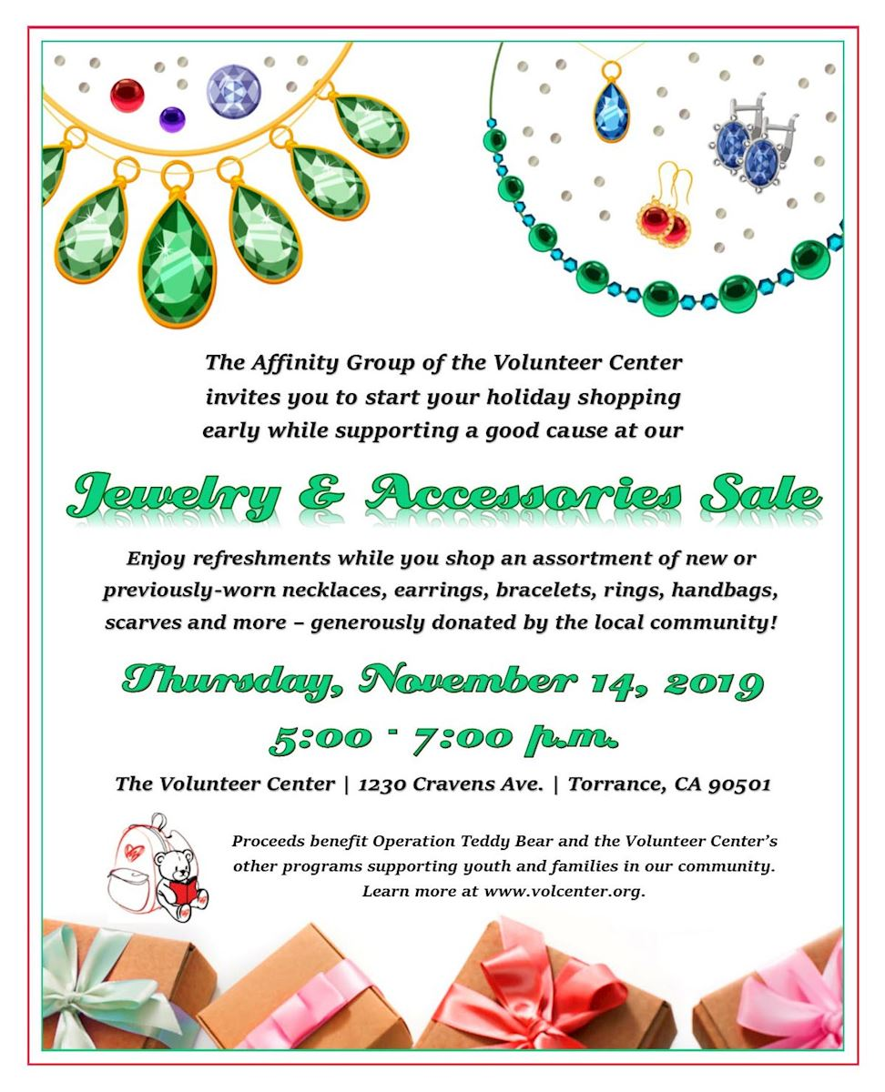 Affinity Group Jewelry & Accessories Sale - Thursday, November 14