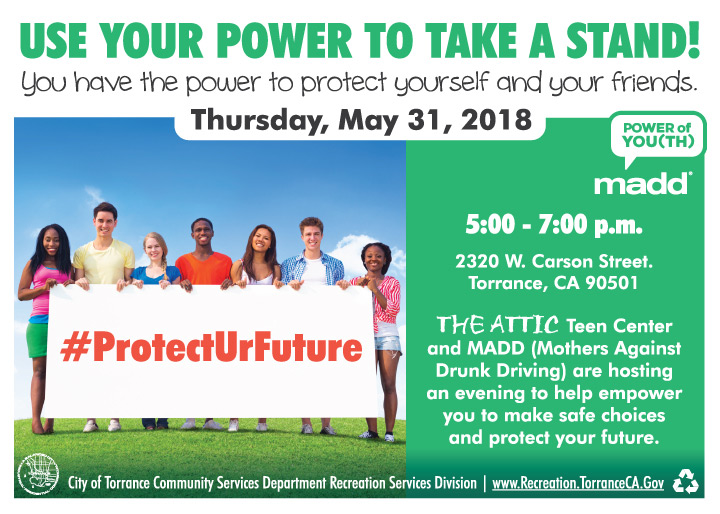 Local Teens Invited to #ProtectURFuture