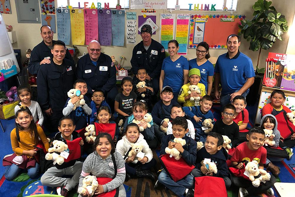 Valero Operation Teddy Bear Sponsors/Volunteers