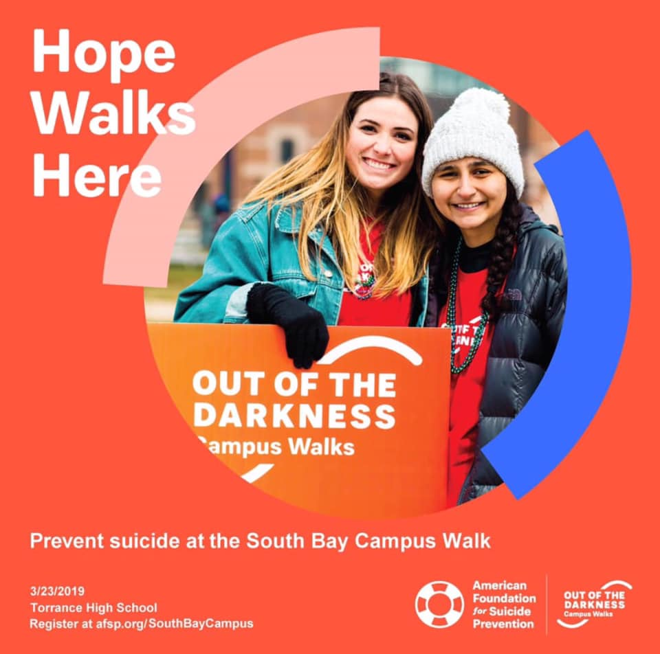Out of the Darkness South Bay Campus Walk March 23, 2019