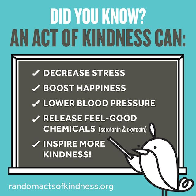 What Acts of Kindness Can Do