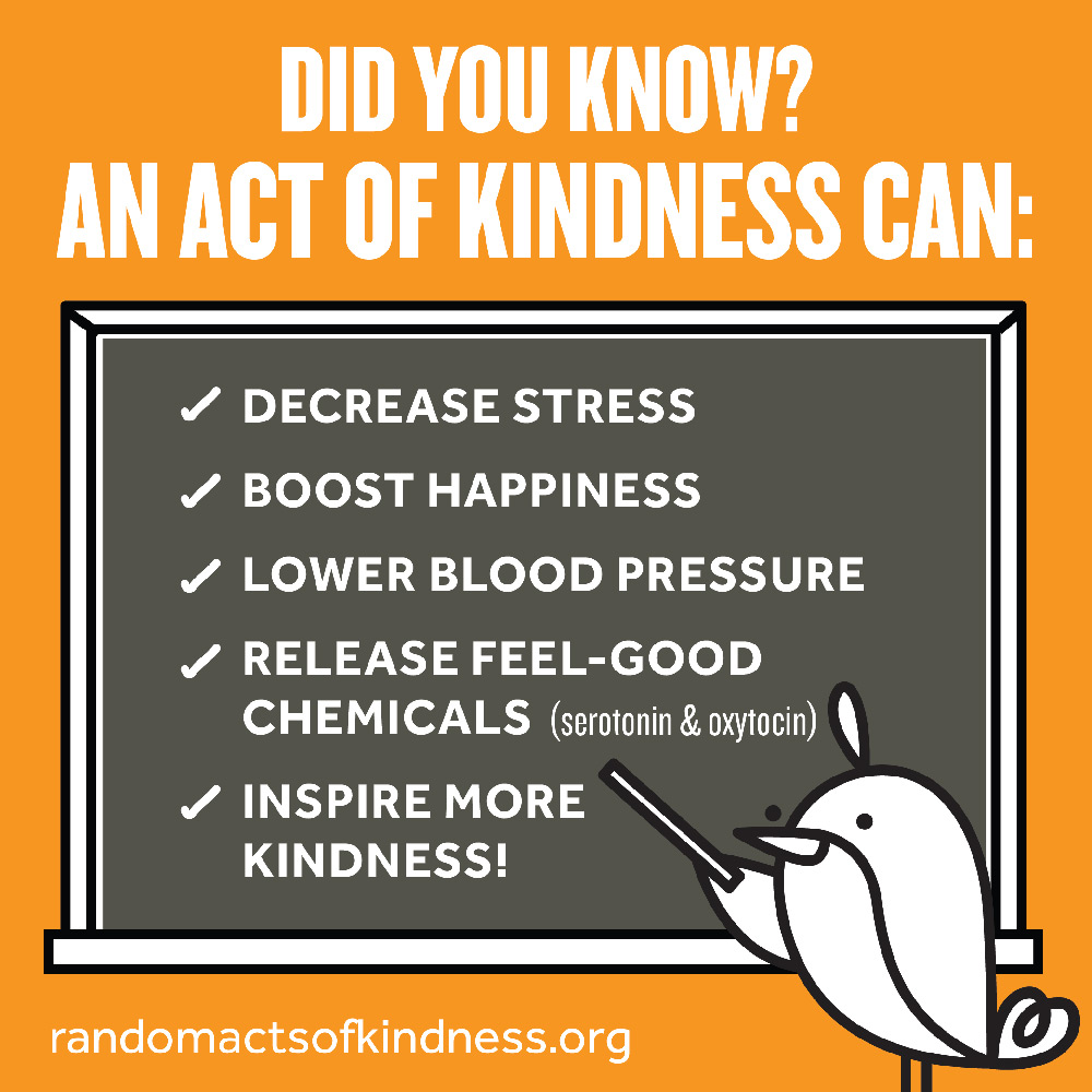 Did You Know an Act of Kindness can