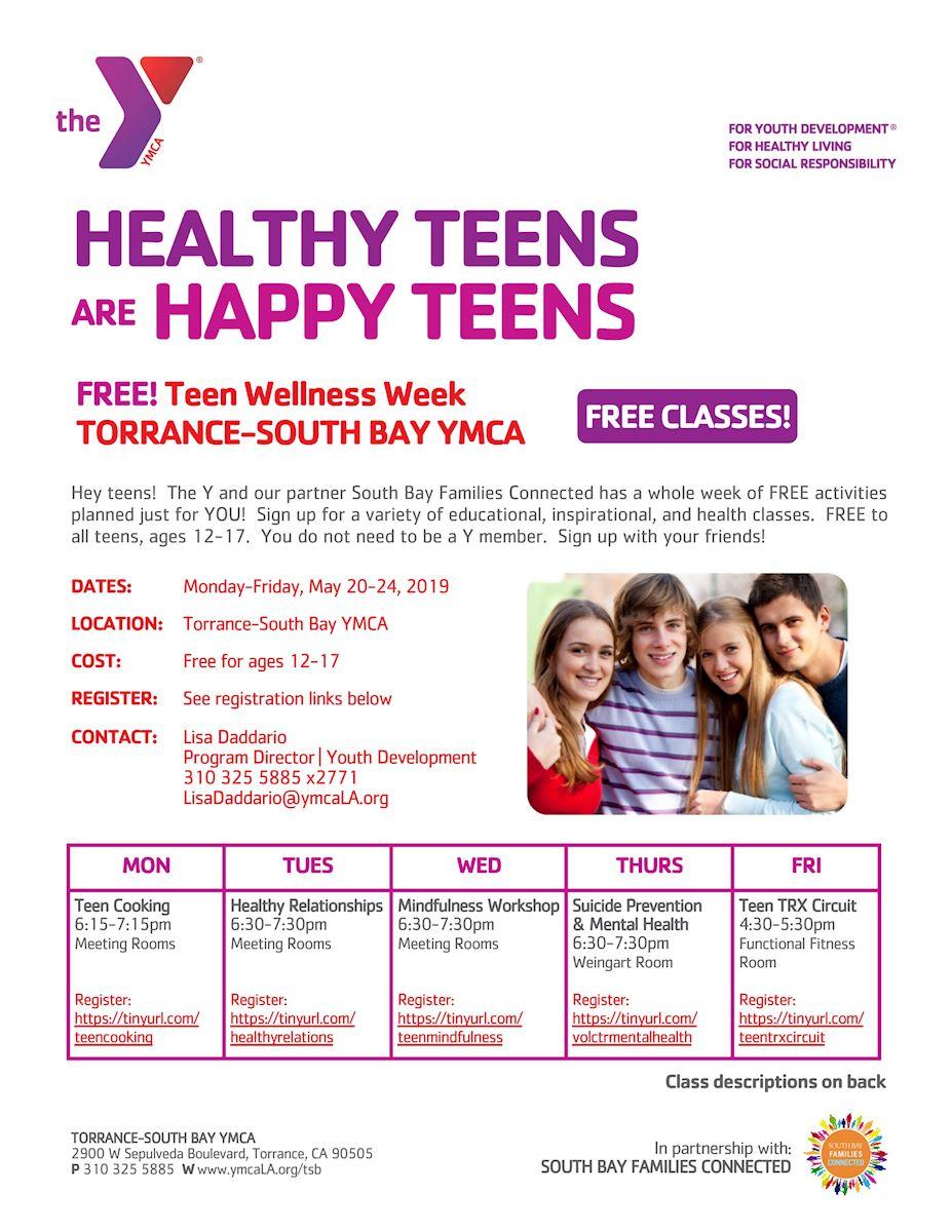 Teen Wellness Week