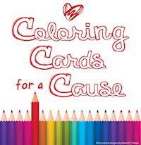 Coloring Cards for a Cause