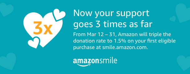 Amazon Smile Promo - March 12-31, 2018