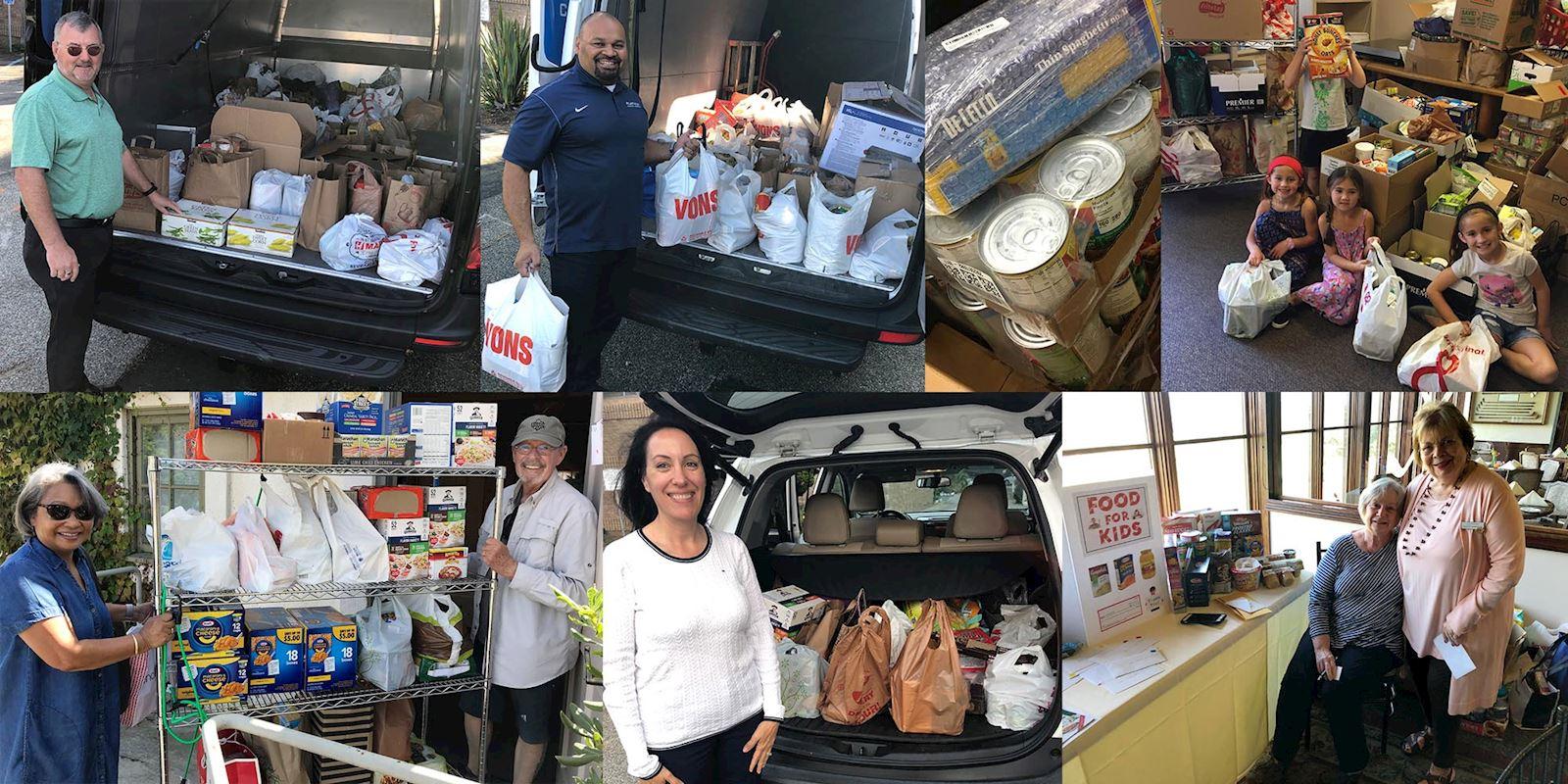 Food For Kids Donations - November 2019