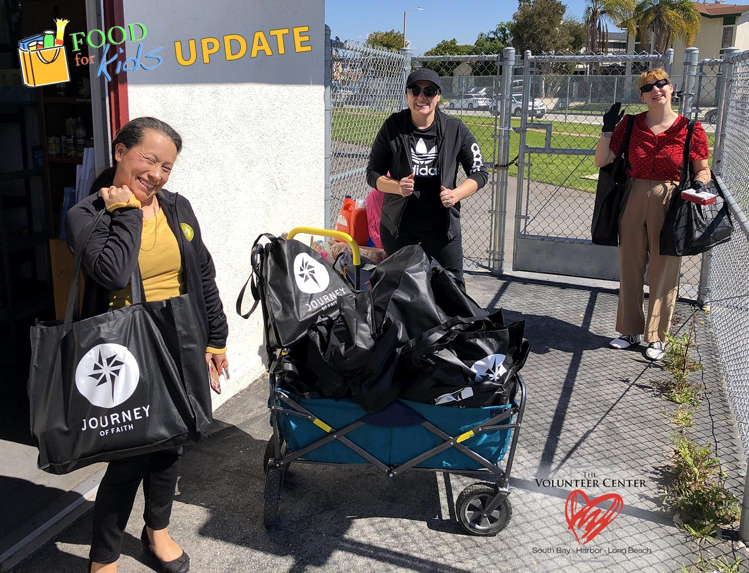 Special Food For Kids delivery at Torrance Unified School District