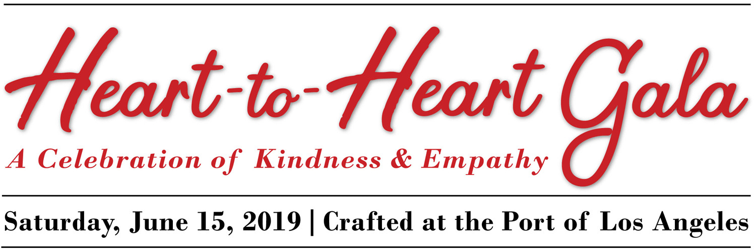 Save the Date for the Heart-to-Heart Gala - Saturday, June 15, 2019