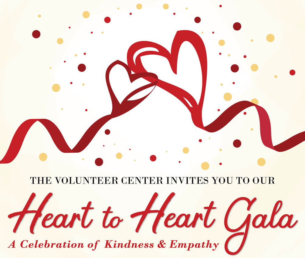 The Volunteer Center's Heart to Heart Gala - Saturday, June 15, 2019