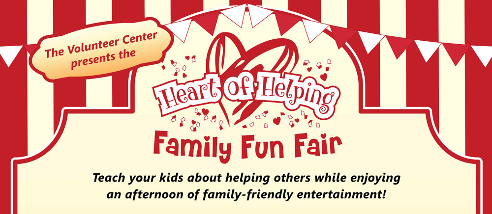 Heart of Helping Family Fun Fair - Saturday, March 10, 2018