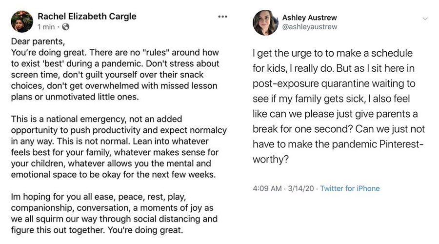 Posts by Rachel Elizabeth Cargle on Instagram @rachel.cargle and Ashley Austrew on Twitter @ashleyaustrew