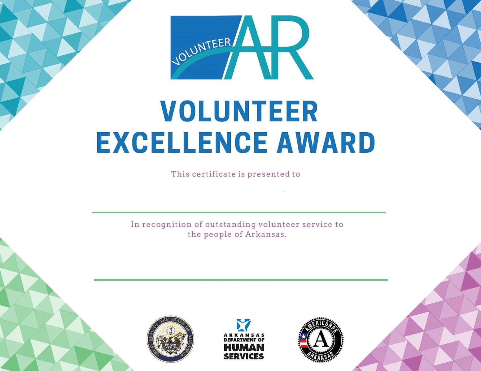 volunteerar recognition events