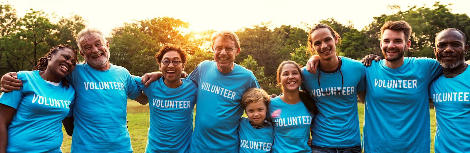 Picture  of volunteers